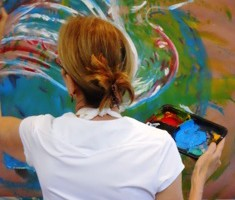 colors used in expressive arts